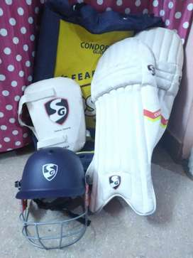SG Cricket Kit with Bat