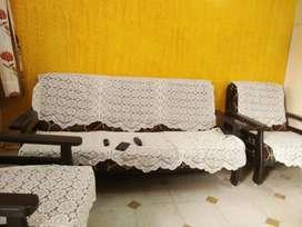 Sofa set (3+1+1) seating capacity