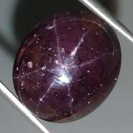 Batu Garnet Star Bintang 6 langka Asli Bermanfaat (Kode 138)