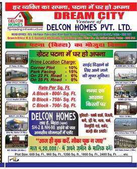 For sell Residential plot & Commercial plot