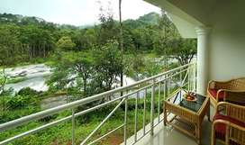 3 Bedroom luxury river view villa for sale in palakkad town in 5 cent