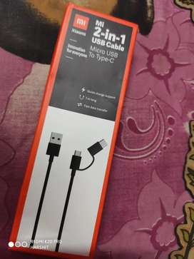Mi cable 2 in 1