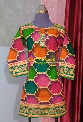 Lawn kurtis available
