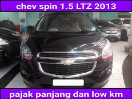 Chev spin LTZ 1.5 automatic/at 2013 istimewa low km