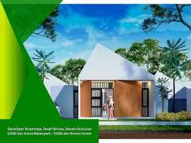 Inhouse Tanpa Bank Terluas Tipe 75/200 Jual Rumah di Tanjung Pinang