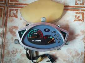 Ampere v60 electric scooter analogue speedometer