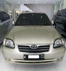 Hyundai Avega GL 1.5 Automatic 2008(Pajak BARU Gress Bln 2)