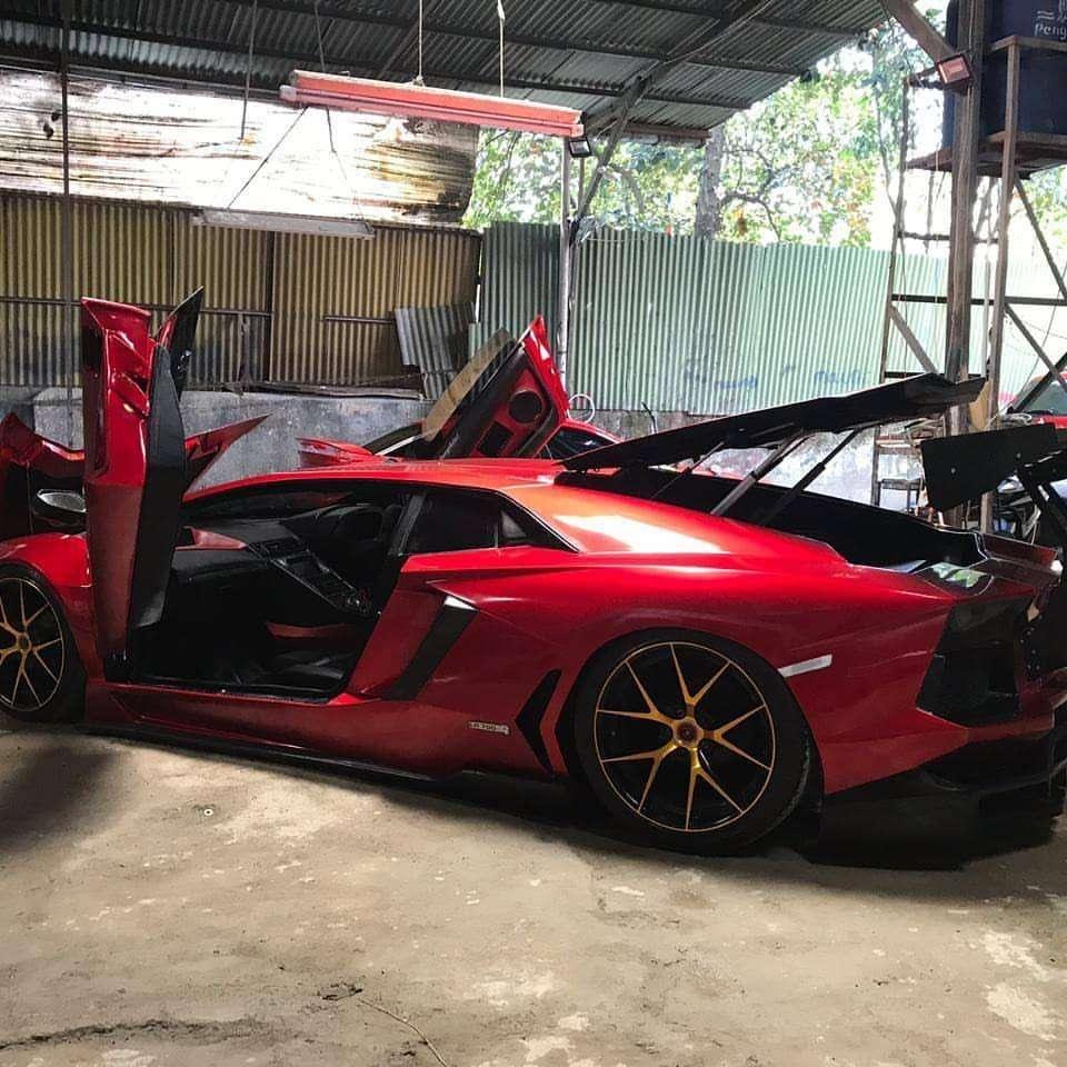 REPLIKA) Lamborghini Aventador LP 700-4 Cileungsi 650 Juta