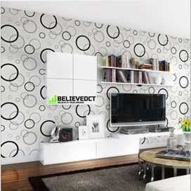 Wallpaper dinding 45cmX10meter harga murah dengan kualitas premium