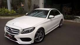 Merc C200 th 2017 .White Cars & Good Cars