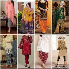 Eid Collection Wholesale price pr Embroidery Designer Ladies suites