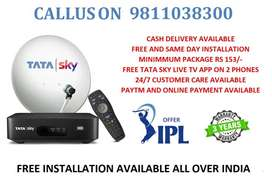 TATA SKY CONNECTION WEEKEND OFFER 3 YEARS WARRANTY ONLY RS 999/-