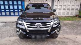 Dijual toyota fortuner vrz 2017 at.