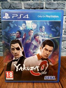 BD PS4 Yakuza 0 zero O.. game cd kaset bluray playstation4