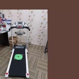 treadmill elektrik 3 fungsi XR-765 alat fitnes treadmill