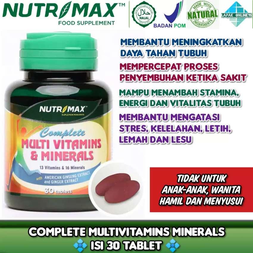 Nutrimax Complete Multivitamins & Minerals untuk kekebalan tubuh 0