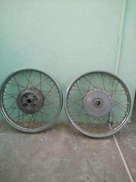 Original wheel bullet m/c