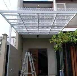 Kami bengkel las nerimah pembuatan kanopi atap solartap $$1128