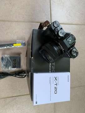 Fujifilm xt 20 with lens 15-45mm FFID