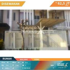 Disewakan Rumah Luas di Dieng Malang 2 Lantai Under 70 Juta/Tahun