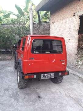Suzuki jimny 83 siap pakai full variasi  harga 60 juta