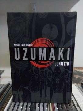 Uzumaki 3 in 1 by Junji Ito