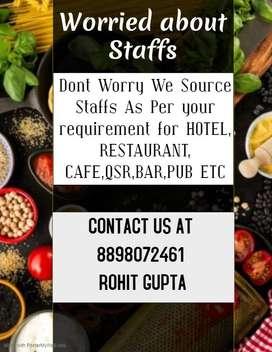 QSR, Cafe, Fast Food, Restaurant Hotel Staff Provider Navi Mumbai