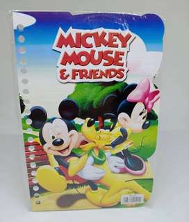 Kertas Binder Loose Leaf A5 Mickey Mouse B