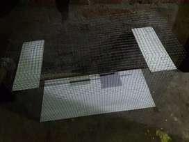 Bird cage white aluminium sheet