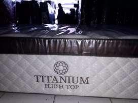 (KASUR SAJA) Spring bed Central tipe Titanium 180x200 MEWAH BERKELAS