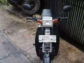 Dijual cepat suzuki rc100 black bravo thn 99