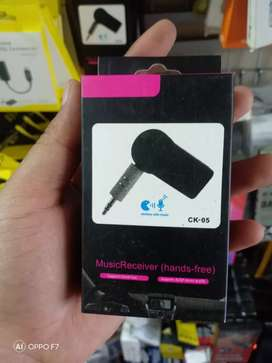 Bluetooth receiver CK-05/bisa pakai headset/aux rechargeable okee