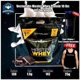 vectorlabs master whey protein 10 lbs