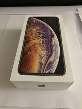 Brand New Iphone XS Max Gold 256Gb n warrenty
