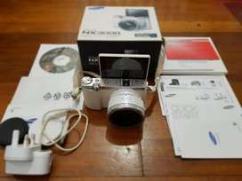 Mirrorles Samsung NX3000 NFC Wifi Kit Lense 16-50mm