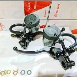 Master rem Nmax PCX set Brembo tabung besar polos barang baru