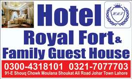 Rent for room Hotel and guest house