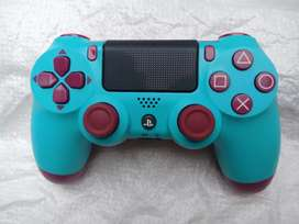 Stick ps 4 blue plus kotak stik ps4