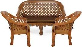 *Immediate Sale* Nilkamal Luxury Four Seater Sofa 2-1-1 (Brown)