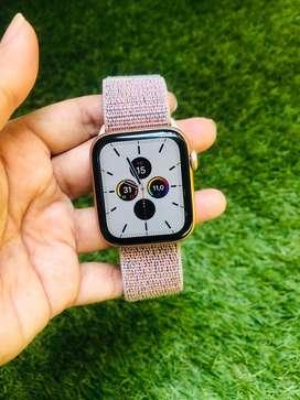 Apple watch iwatch seri 4 44mm rose gold GPS LTE
