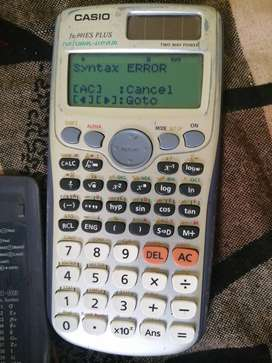 Engineering calculator casio fx 991Es