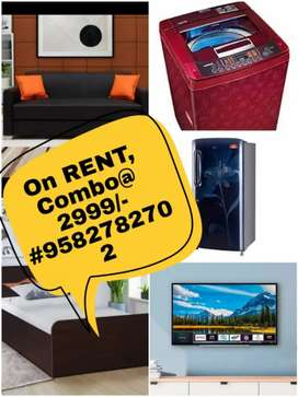 On Rent combo for furniture and Appliances on RENT rENt
