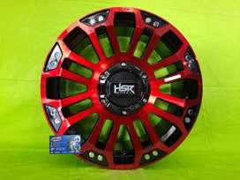 Velg HSR Origina MYTH05 ring 18 buat pajero, fortuner - Free Spooring