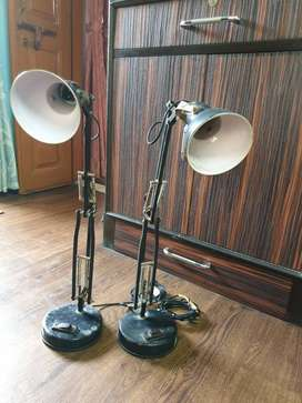 2 working Table  Lamps