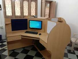 Office 4 Seater Computer Table