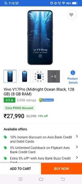 V17 Pro 8GB Ram