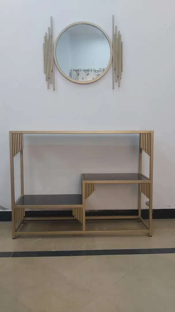 King console with mirror 0