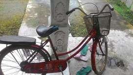 Sepeda lama nga di pake
