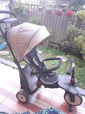 Smartrike 7 in 1 Tricycle (Sepeda roda tiga sekaligus stroller)