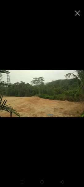 Di Jual tanah lokasi strategis, di tepi jalan lintas Sumatera
